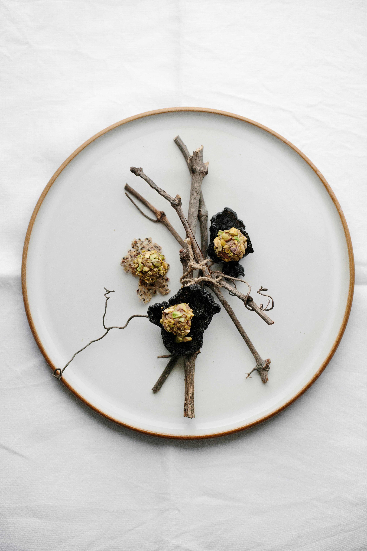 pate-y-pistachos-sobre-concha-de-quinoa